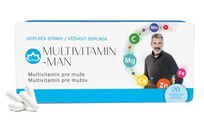 18x Multivitamin MAN   (18x 20 tobolek)