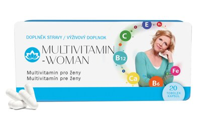 9x Multivitamin WOMAN  (9x 20 tobolek)