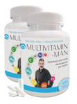 2x Multivitamin MAN